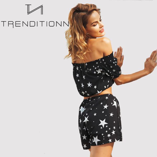 Short star two piece