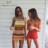 Colorful two piece | Trenditionn.