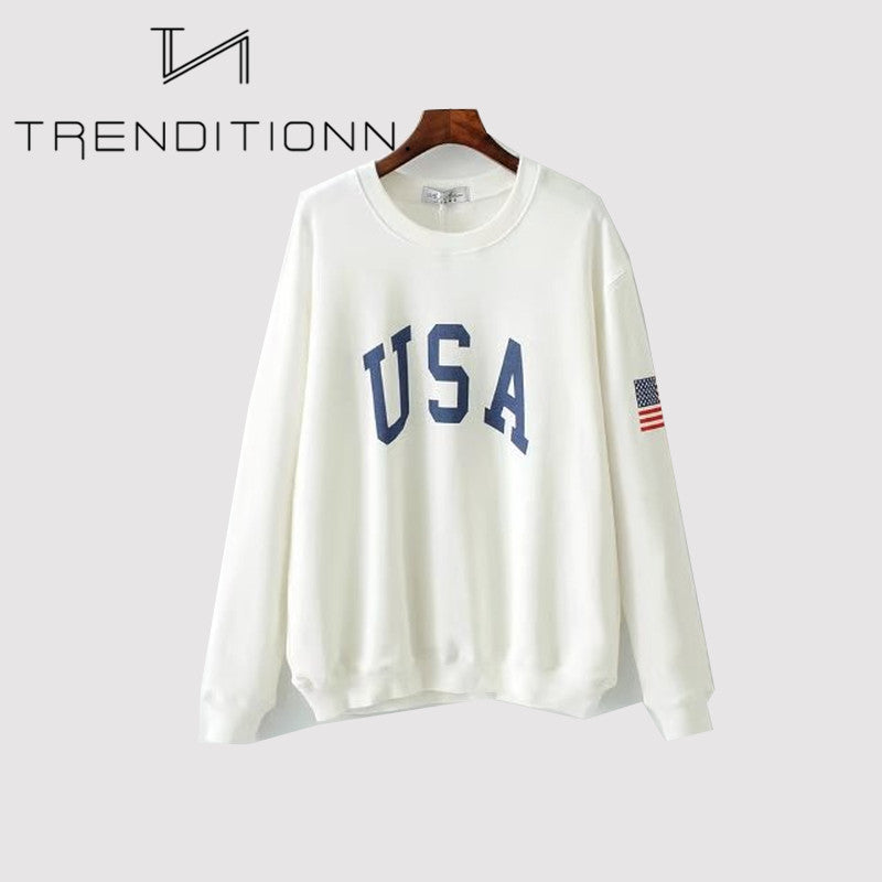 Trui Sweater.Usa Sweater Trenditionn