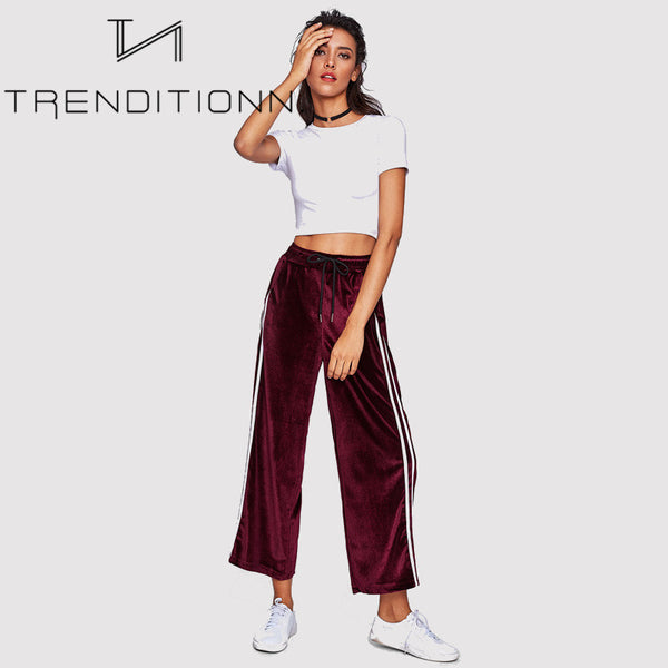 Bordeaux sweatpants