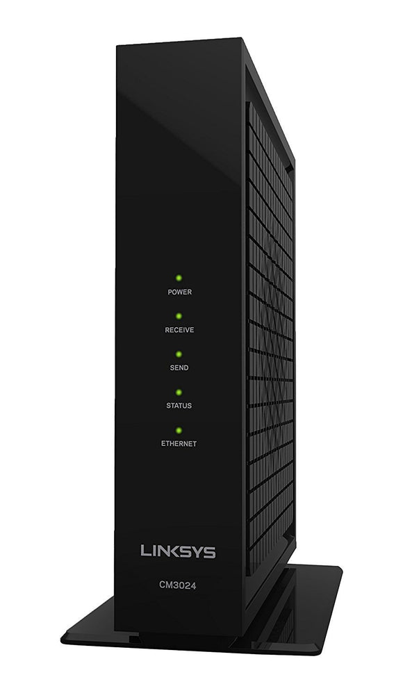 Linksys CM3024 DOCSIS 3.0 Cable Modem (24X8 Bonded Channels) - Quality New and Refurbished Electronics