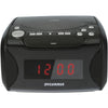 Sylvania Usb-charging Cd Dual Alarm Clock Radio