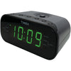 Timex Am And Fm Dual Alarm Clock Radio With Digital Tuning (gunmetal Gray)