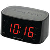 "Sylvania 1.2"" Bluetooth Dual Alarm Clock Radio (black)"