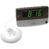 Sonic Alert Sonic Boom Travel Alarm Clock With Super Shaker
