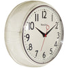 "Westclox 9.5"" Retro Wall Clock"