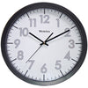 "Westclox 14"" Round Office Wall Clock"