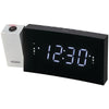 Jensen Digital Dual-alarm Projection Clock Radio