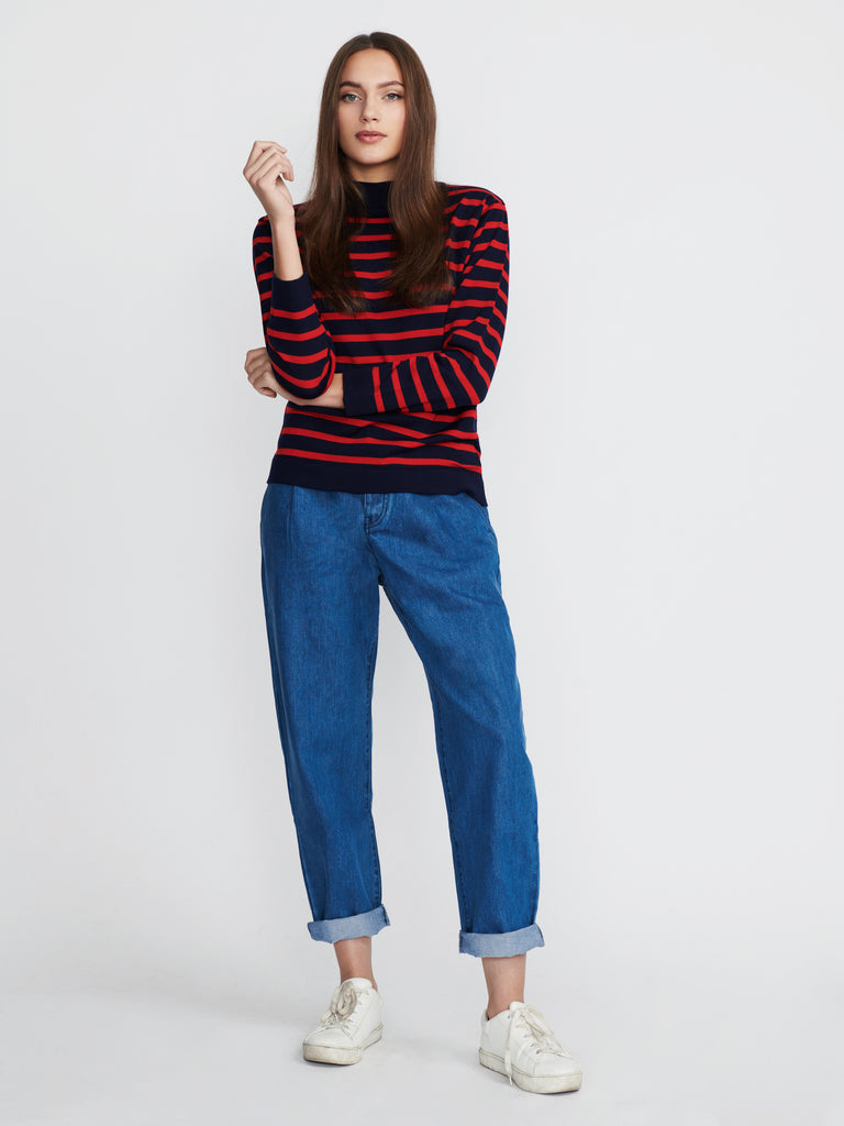 Amie striped sweater