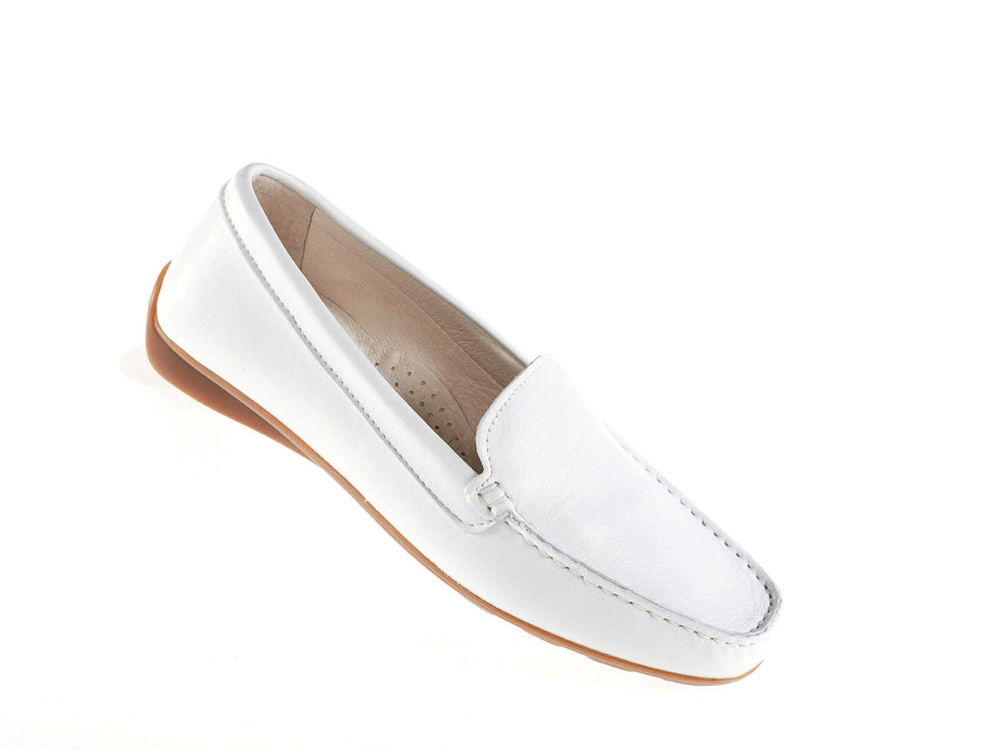 Women's S-Top Moccasin Leather Shoe