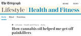 The Telegraph report on Cannabinoids