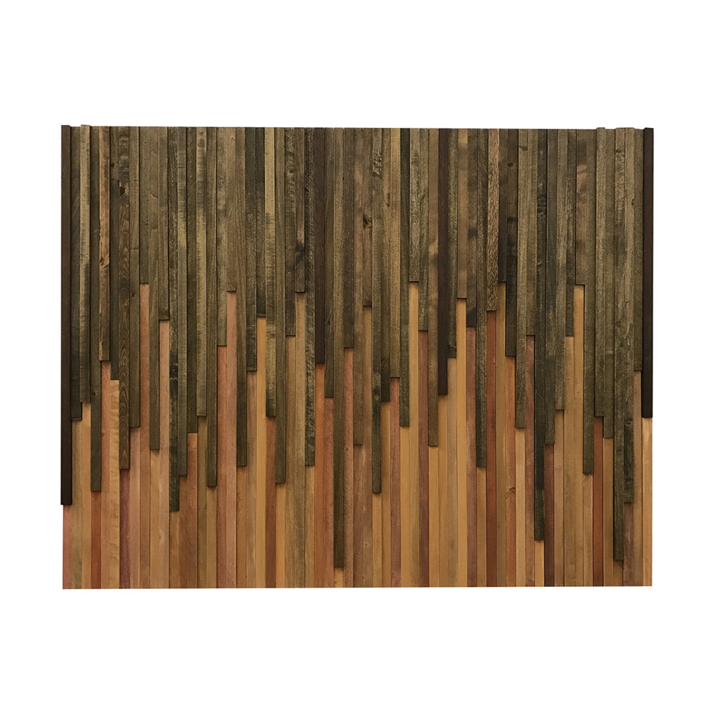 Wall Art Wood Wall Art Rustic Wood Sculpture Wall Installation 46x36 Modern Textures Inc