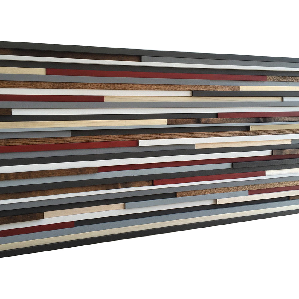Reclaimed Wood Wall Art Part - 17: ... Wood Wall Art - Reclaimed Wood Art Sculpture - Modern Wall Art/Abstract  Painting On ...