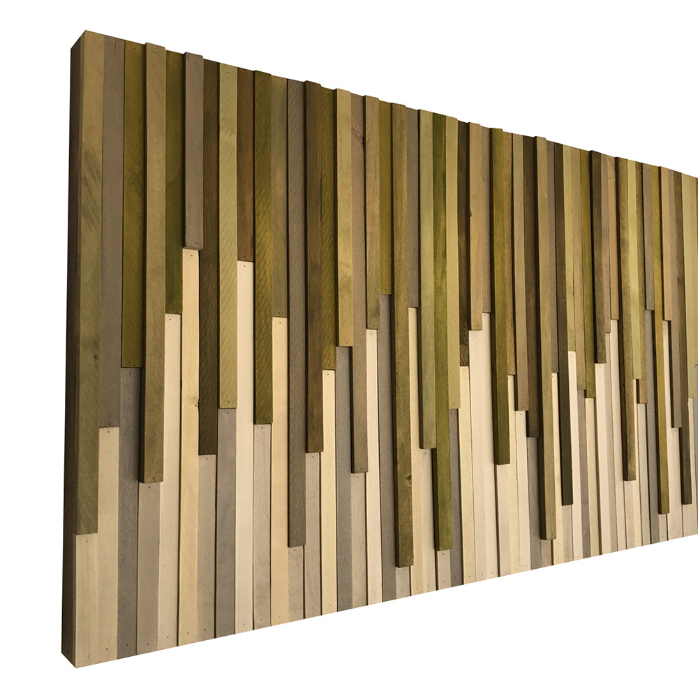 Wall Art Wood Wall Art Rustic Wood Sculpture Wall Installation 46x22