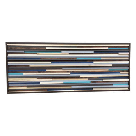 Wall Art - Wood Wall Art - Reclaimed Wood Art Sculpture - Modern Wall Art/Abstract Painting on Wood - Modern Textures