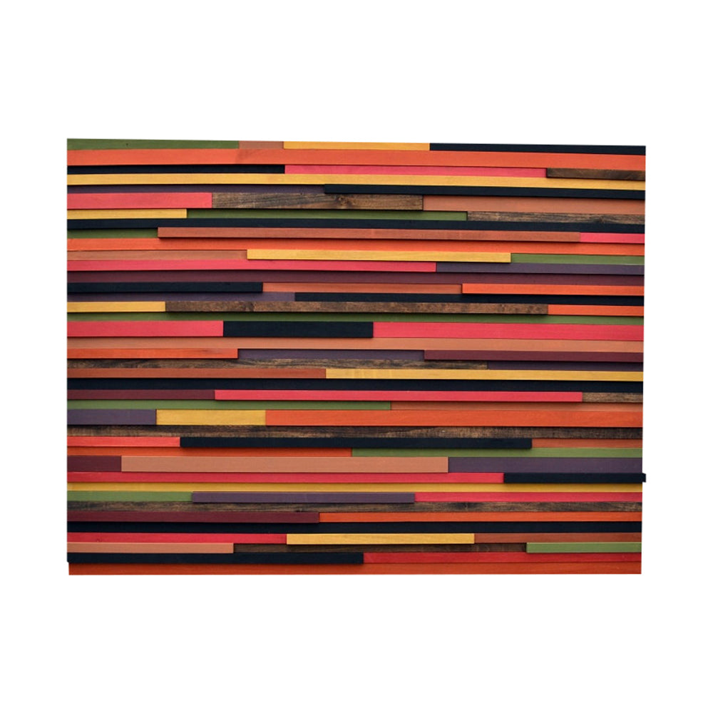 Wood Wall Art/Sculpture - Reclaimed Wood - Abstract Sculpture - 3D Art - 36x48 - Modern Textures