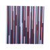 Wood Wall Art - Reclaimed Wood 36x36 in Reds, Whites, Grays Wood Sculpture - Modern Textures
