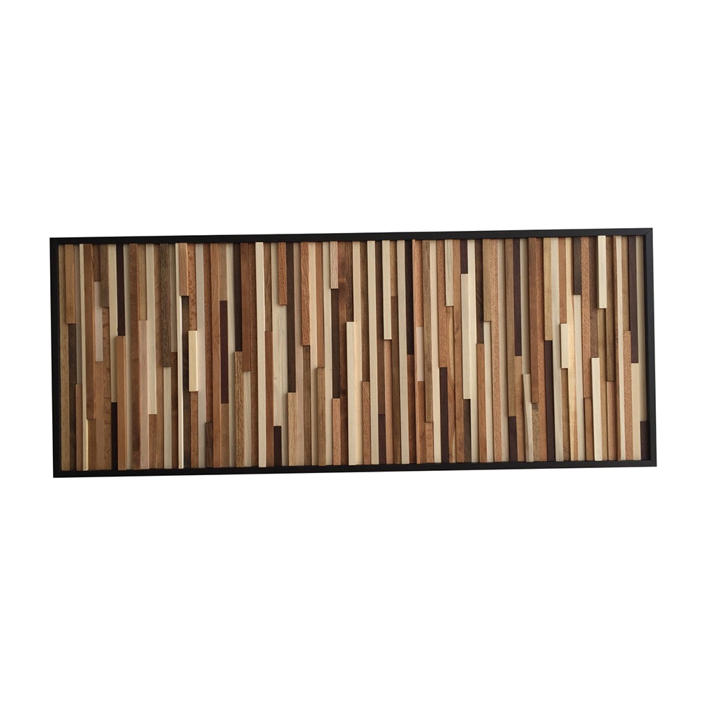 Wood Wall Art - Wood Art - Reclaimed Wood Art - Wall Installation - Modern Textures