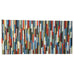 Wood Wall Art - Modern Reclaimed Wood Art Wall Sculpture- Abstract Painting on Wood - 24x50 - Modern Textures