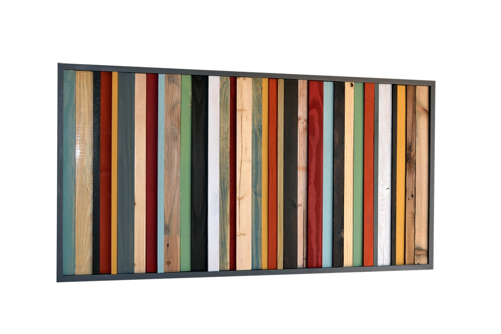 Wood Wall Art - Reclaimed Wood Art Sculpture - Modern Artwork - Modern Textures