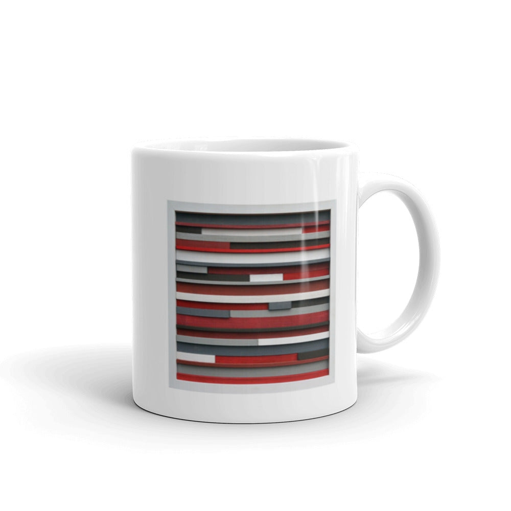 Artsy Coffee Mug // Original Modern Textures Coffee Mug