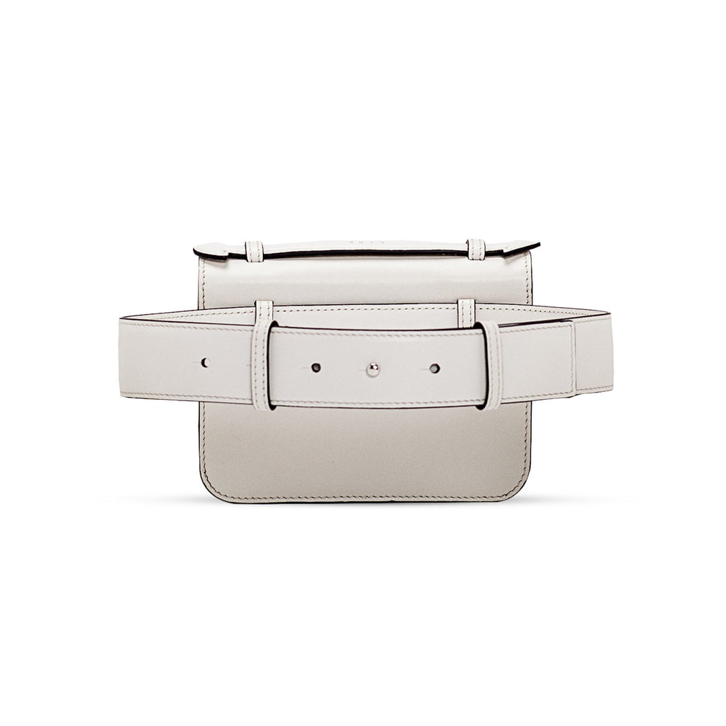 AIMÉE BELTED off white