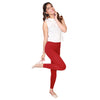 Adorna Active Leggings - Maroon