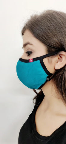 Reusable Multi Color face masks with adjustable sizes - Pack of 10