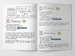 Turn Your HB Handbook Into A Bullet Journal