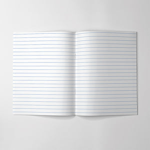 Lined Paper Notebook - HB Handbook
