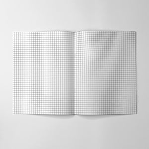 Squared Paper Notebook - HB Handbook