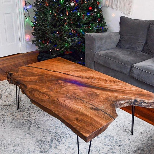 Custom Reclaimed Wood Live Edge Tables