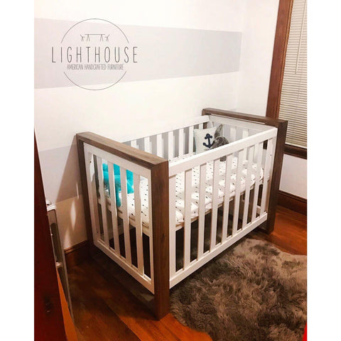 Zebra Crib | Lighthouse Woodworks