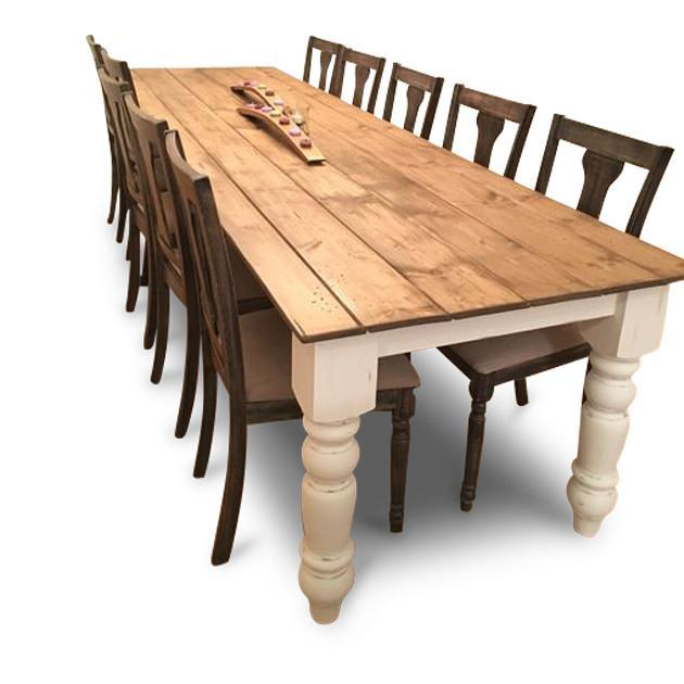 Sandy Neck Farm Table | Lighthouse Woodworks