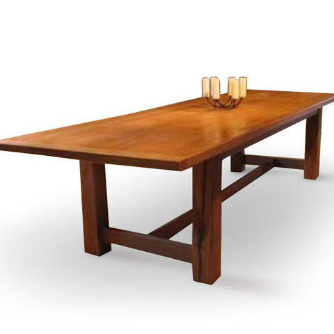 Clarks Point Trestle Table | Lighthouse Woodworks