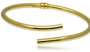 14k gold over sterling bracelet