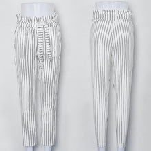 Casual Striped Pants