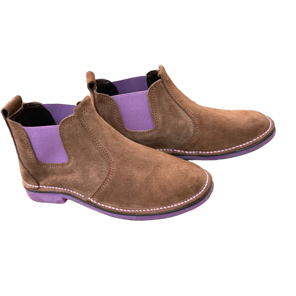Urban Chelsea Boots (Pink) - Vellies Ville