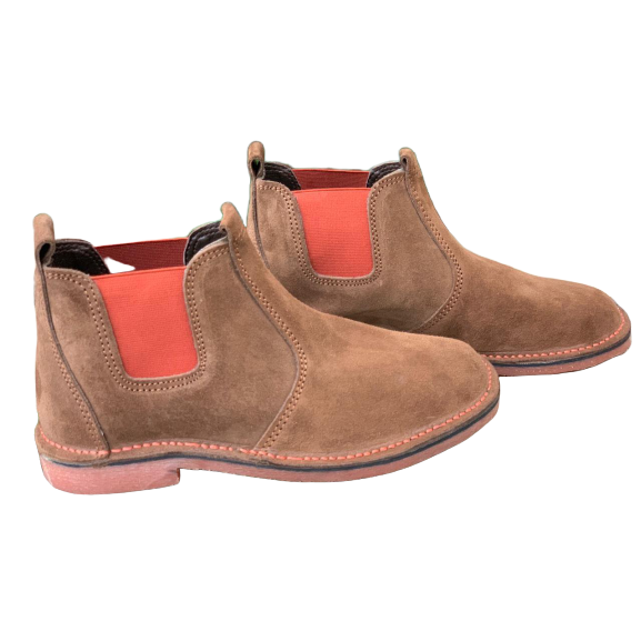 Urban Chelsea Boots (Orange) - Vellies Ville