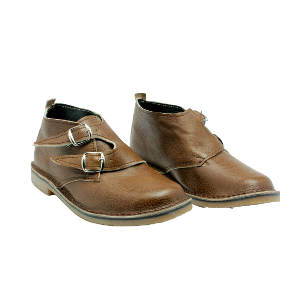 Buckle Up Vellies (Chocolate) - Vellies Ville