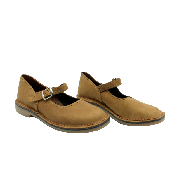 Mary Jane Vellies (Tan) - Vellies Ville
