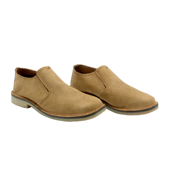 Slip on Vellies (Tan) - Vellies Ville