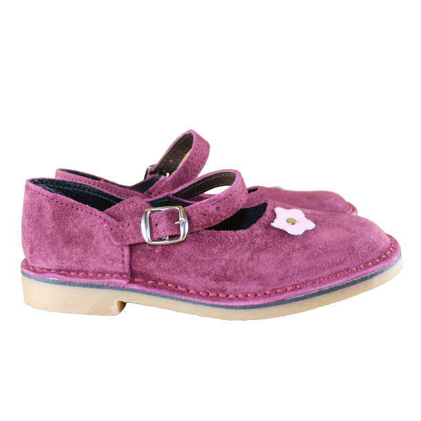 Flower Girl (Maroon S) Limited Edition - Vellies Ville