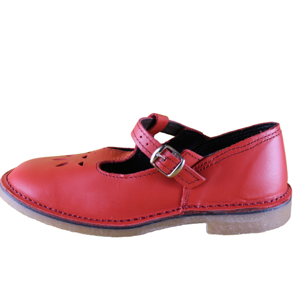 Baby Doll Vellies (Red) - Vellies Ville