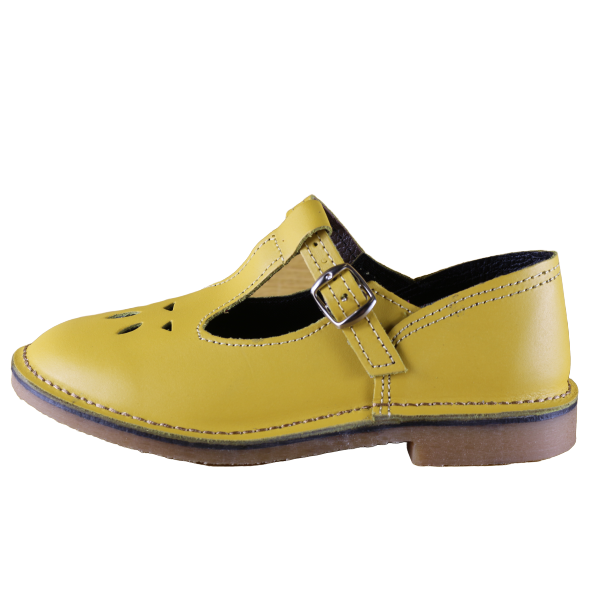 Baby Doll Vellies (Yellow) - Vellies Ville