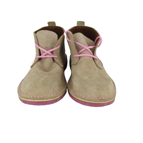 City Vellies (Stone & Pink) - Vellies Ville