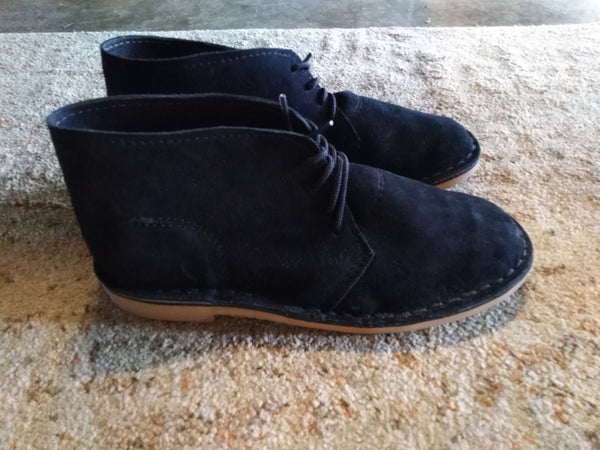 Farmers Vellies Black (Size  8)