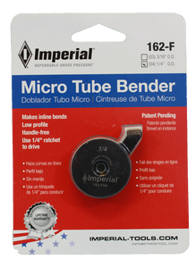 "IMPERIAL 1/4"" MICRO TUBE BENDER  (162-F-04)"