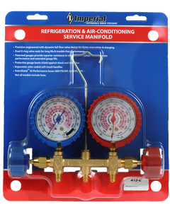 REFRIGERATION & AIR-CONDITIONING SERVICE MANIFOLD (415-CC)
