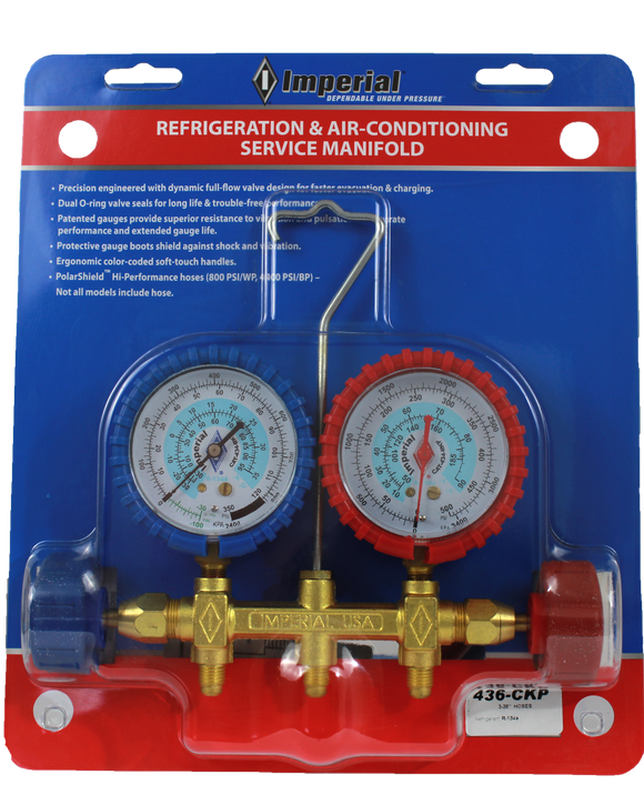 REFRIGERATION & AIR-CONDITIONING SERVICE MANIFOLD (436-CKPC)